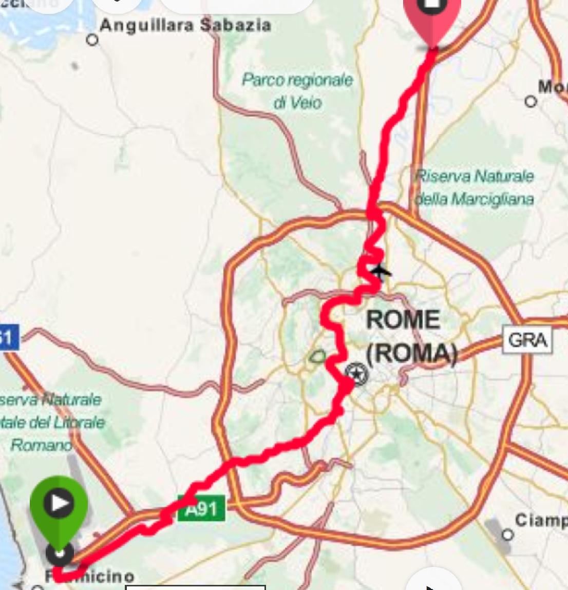 rooman kartta ja nähtävyydet