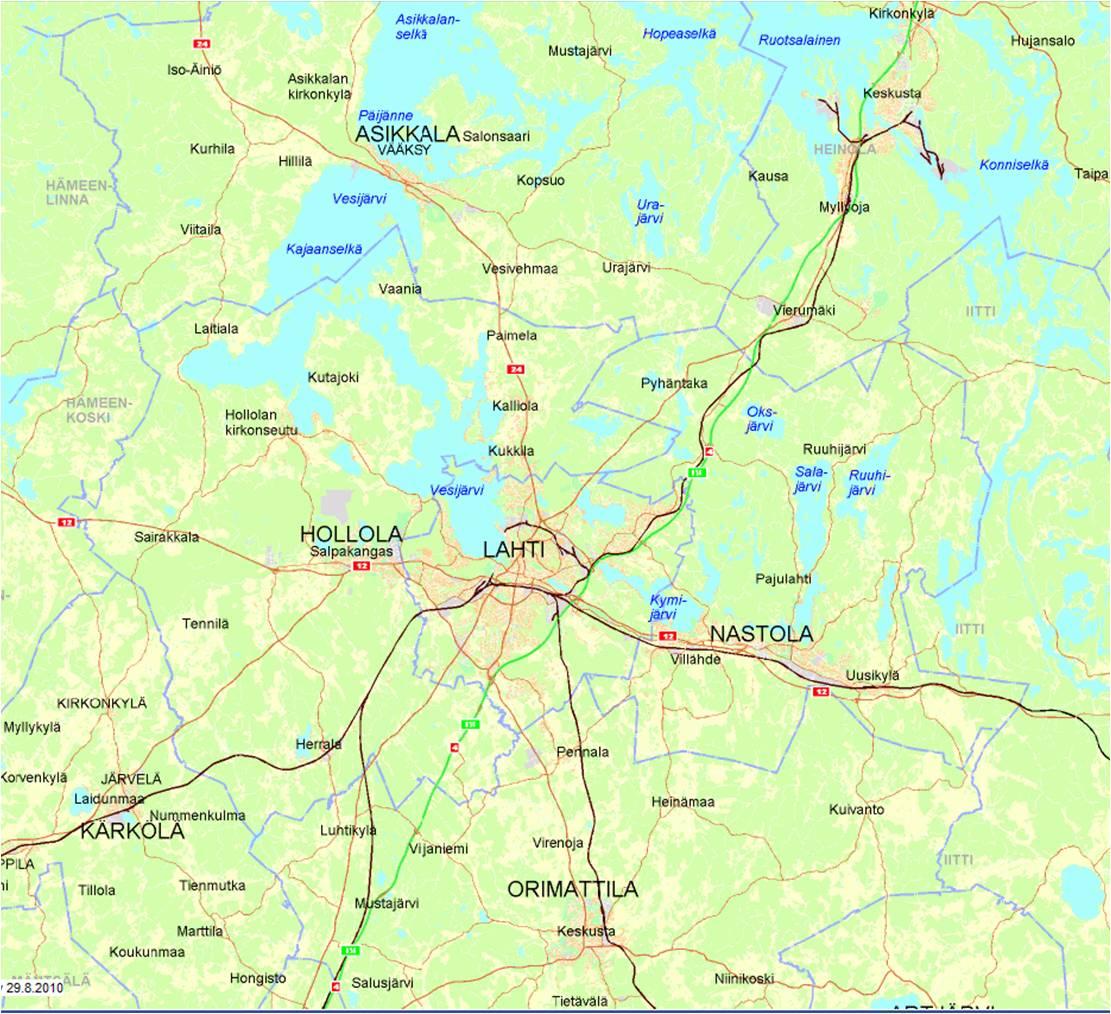 Lahden Kartta Soininvaara